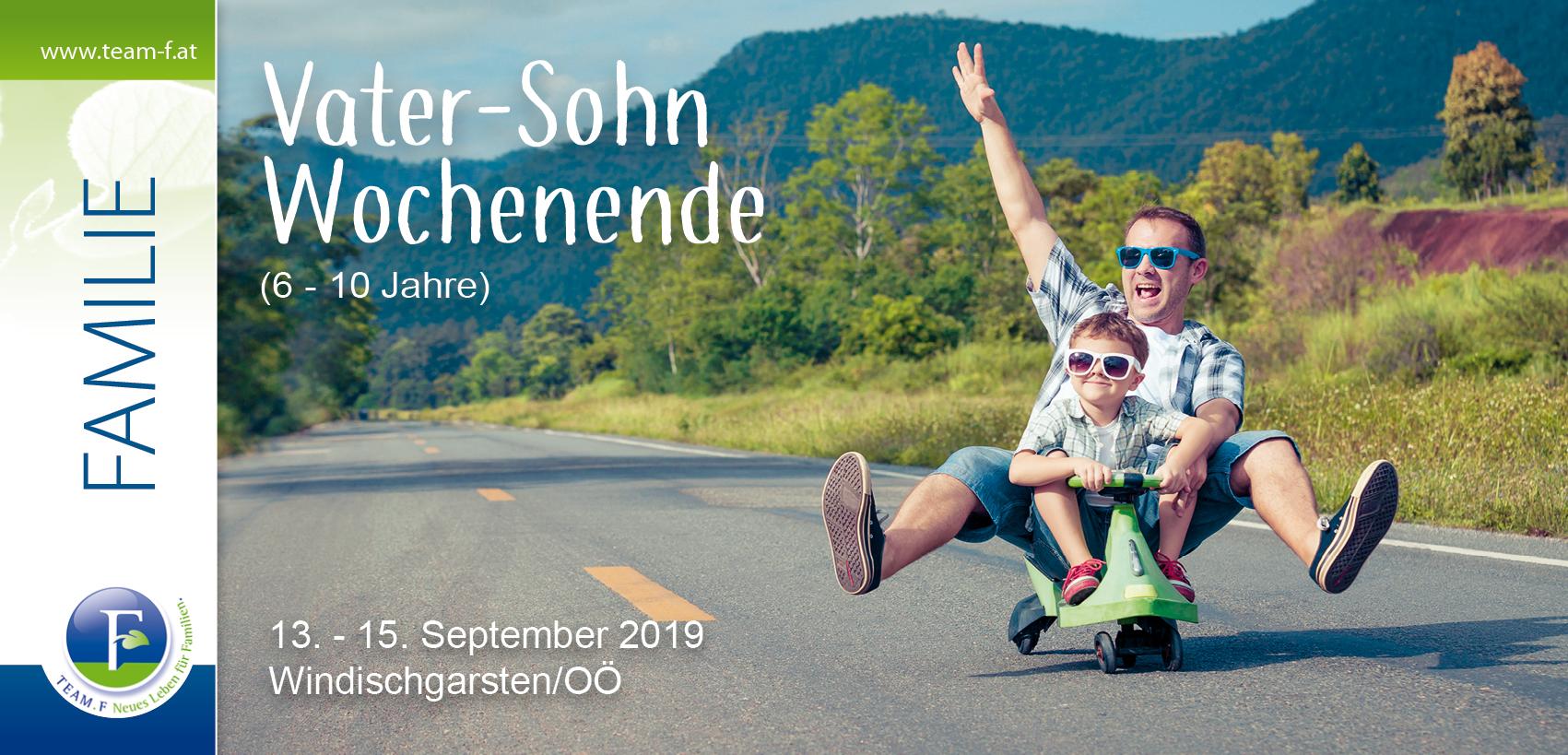 Vater-Sohn Wochenende (6-10 Jahre)