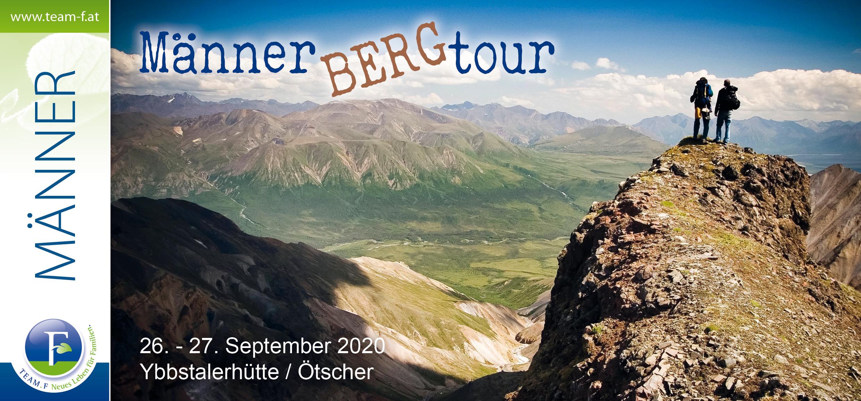 Männer-Bergtour