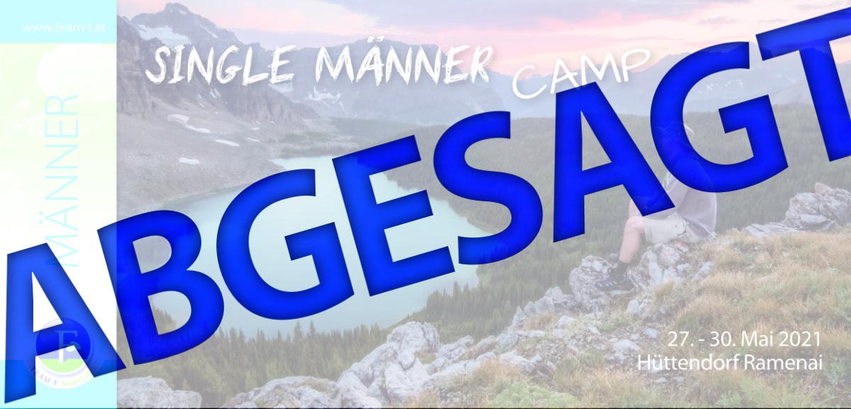 Single-Männer Camp - ABGESAGT!