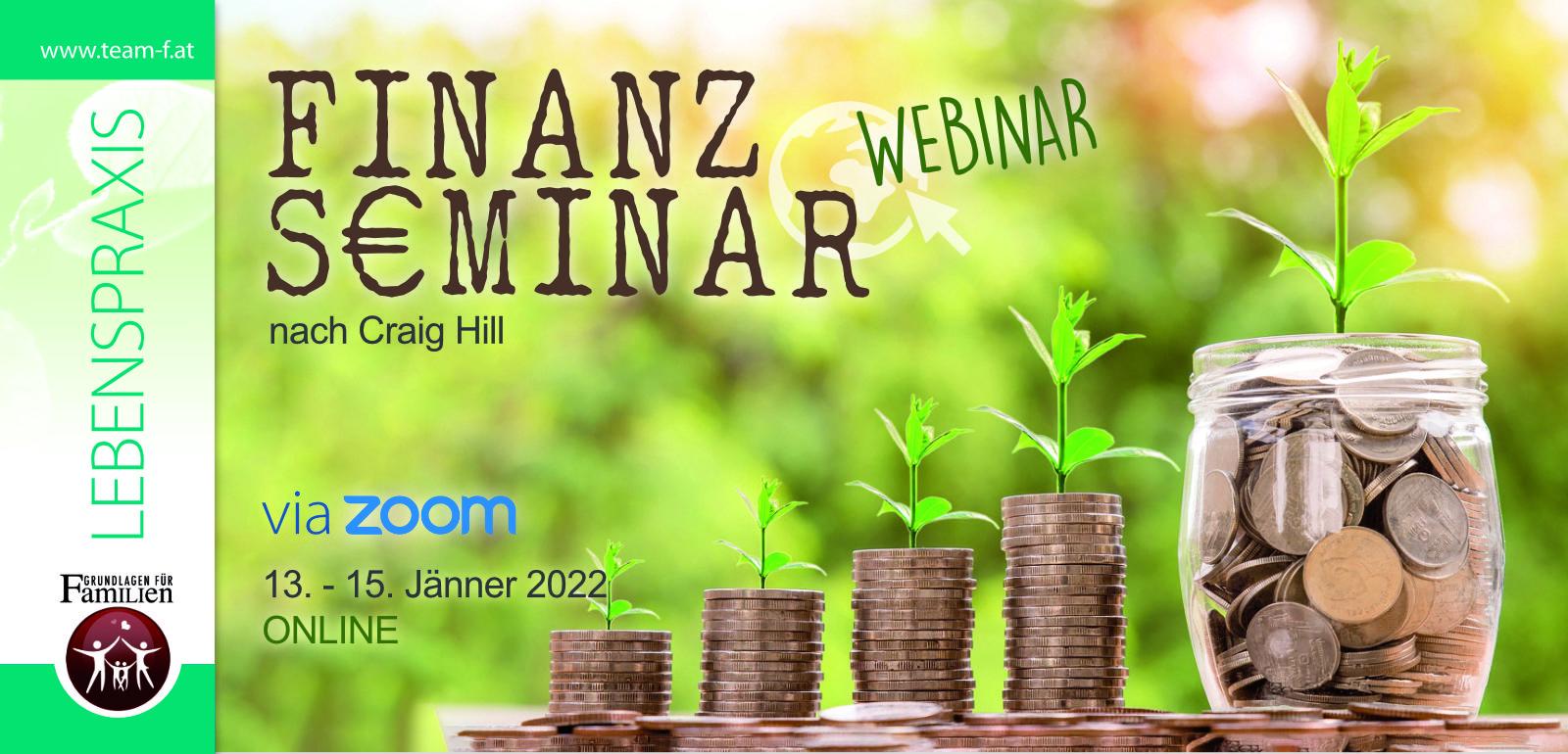 Finanz-Seminar nach Craig Hill (ONLINE)